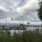 Blick auf die Alster – Drama-Boote